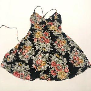 🍭 Bacio cute floral summer dress S